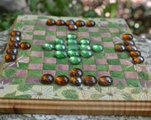 Wood Asters Hnefatafl Game Board