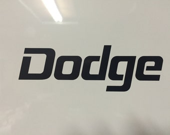 Dodge  Vinyl Decal