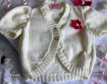 Girls knitted bolero
