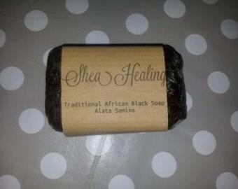 African black soap - Alata Samina Big bar