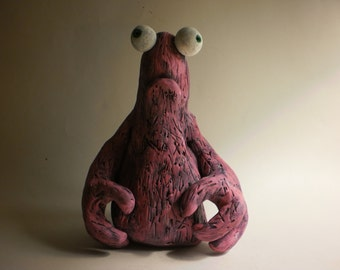 Book of Unwritten Tales Critter Clay Sculpture