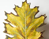 Oak Leaf - Fall Leaf - Green - Large
