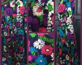 Vintage St.Michaels maxi dress (UK 14)