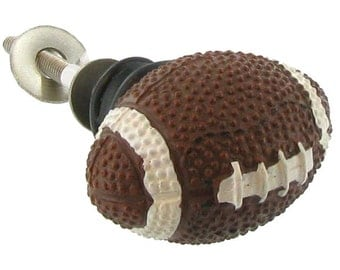 New Set 6 Football Knobs Sports Ball Handles Pulls Games