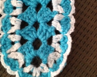 Lacy Turquoise Afghan