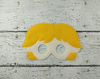 Galaxy Warrior Children's Felt Mask  - Costume - Theater - Dress Up - Halloween - Face Mask - Pretend Play - Party Favor