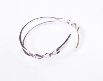 Sterling SIlver bracelet. Geometric and minimalist. For man and for woman.