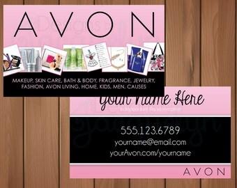 Avon Representative - Business Cards - Printed
