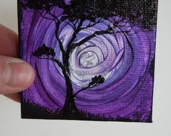 Micro painting + easel display