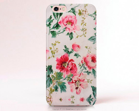 Floral iPhone 6s Case iPhone 6s Plus case Samsung S6 Case Samsung Galaxy S7 Case iPhone 7 Case iPhone 6 case LG G4 Case Floral LG G3 Case