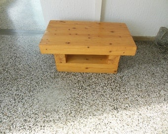 Rustic natural coffe table