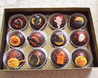 Halloween Cake Bites Gift Box