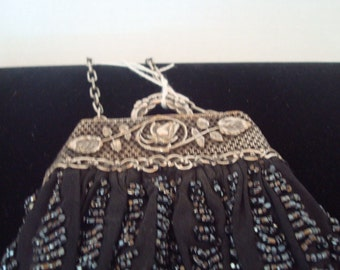 Exquisite vintage beaded purse