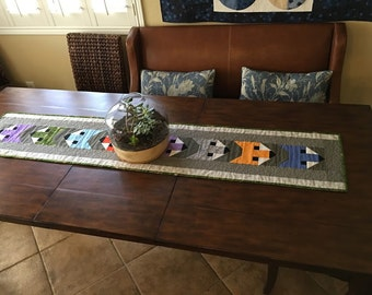 Fox Woodland Creatures Table Runner