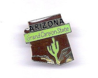 Vintage Arizona Grand Canyon State Hat/Lapel