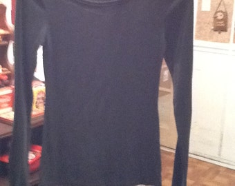 Old Navy--Ladies X-Small Gray Long Sleeve Blouse