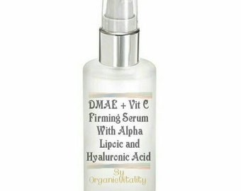 DMAE & Vitamin C Firming Facial Serum with Hyaluronic and Alpha Lipoic Acid