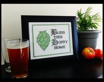 Beer Cross Stitch Pattern