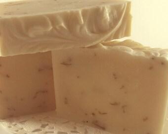 Handmade calendula soap