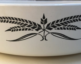 Bakeware Anchor Hocking Vintage Cookware Brown Wheat