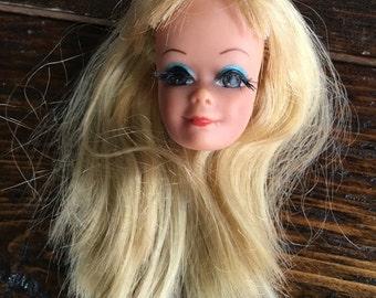 1958 P.J. Midge head / Barbie & Friends Mattel 1113 / Blonde Brown Eyes