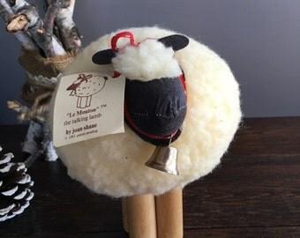 """Joan Shade """"Le Mouton"""" 1983 Talking Sheep/ Vintage"""
