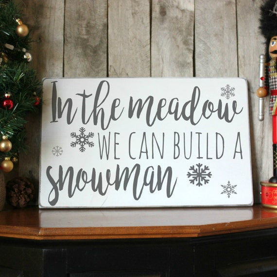 Winter wood sign christmas by