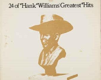 24 of Hank Williams' Greatest Hits Double Vinyl Record - Hank Williams (1970)