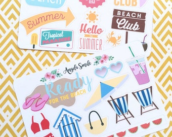 SUMMER BEACH Sticker