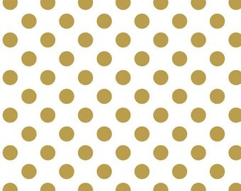 Sparkle Gold Dots by Riley Blake