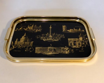 Woodmet Scenes of London tray - original from the 1960s