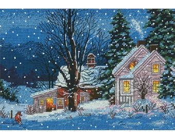 Dimensions Gold Counted Cross Stitch Kit - Quiet Night, #70-08935