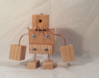 Bearded Wood Robot