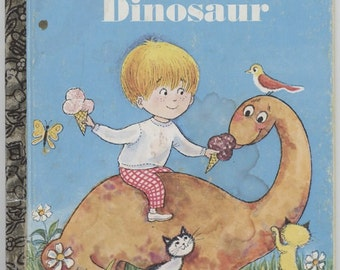 My Little Dinosaur / Little Golden Book / Written and illustrated by Ilse-Margaret Vogel / 5th Printing-1978