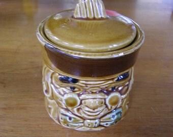 Ben Franklin Cvered Sugar Pot  made in Japan