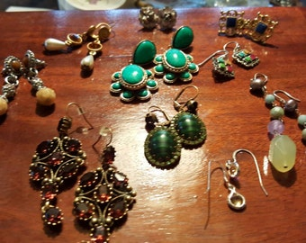 Awesome mixed earring lot
