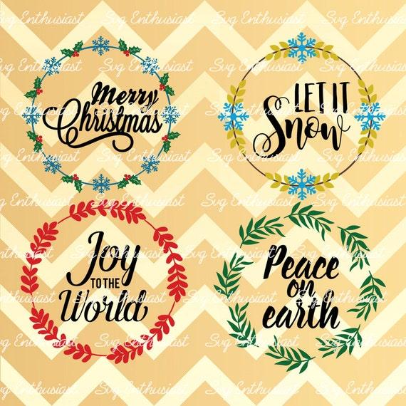 Christmas wreath decoration bundle svg christmas sayings for Christmas decoration quotes