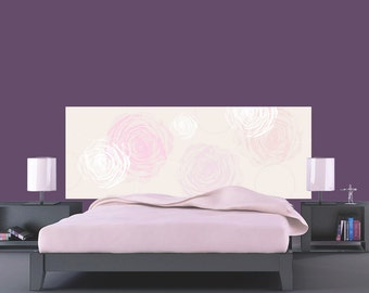 limited series published adhesive fabric headboard