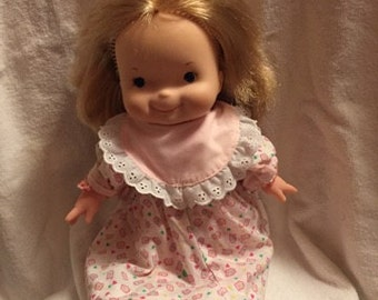 1973 Fisher Price,  lapsitter doll , 14 inches tall. Mary #200