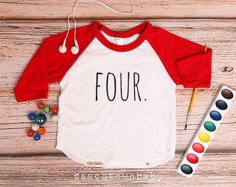 Fourth Birthday Shirt; 4th Birthday Shirt; 4 Birthday Shirt; Four Birthday Shirt; Hipster Birthday Shirt; 4; Birthday Girl; Birthday Boy