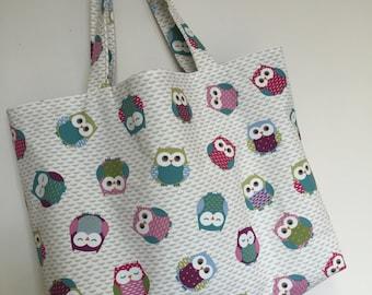 Bag, Tote Bag, Shopping Bag, Owl, Owl Bag, Beach Bag