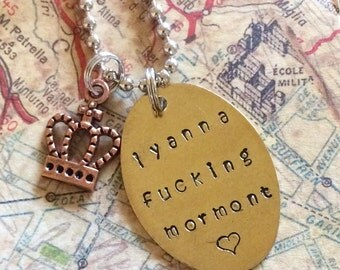 Game of Thrones Lyanna Mormont necklace