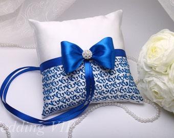 Ring Bearer Pillow - wedding Pillows blue - blue ring pillow - blue pillow - wedding blue - Wedding Ring Pillow - Ring Pillow- Bearer Pillow