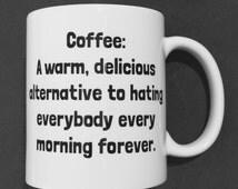 Coffee Mug Joke, Funny Coffee Mug, Office Coffee Mug, Funny Mugs, Funny Coffee Mugs, Office Humor Mug, Crazy Coffee Mugs, Joke Mug