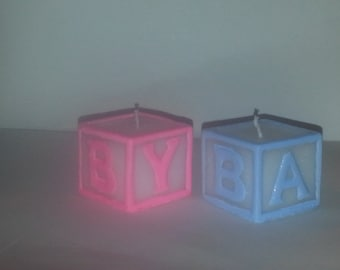 Baby Block Scented Candles