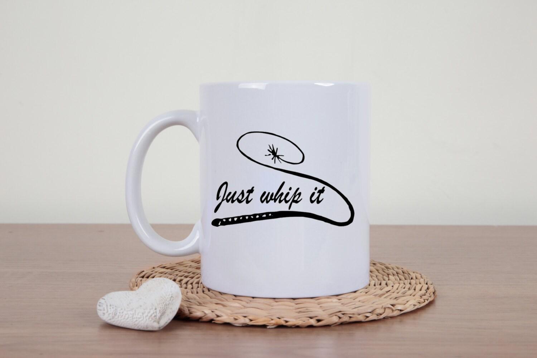 Personalized mugs cheap uk - Funny Coffee Mug Whip It Coffee Mug Novelty Mug Just Whip It