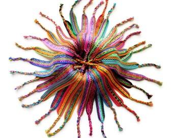 boho friendship bracelet layered bracelet beach bracelet gypsy bangle boho jewelry wholesale LOT OF 25