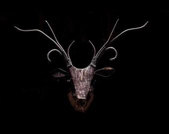 Deer Head Scuplture