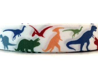 Dinosaur Ribbon, Dinosaur Grosgrain, Dino Ribbon, Dino Grosgrain, Dino Party Ribbon, Dinosaur Party, Dinosaur Theme, Dino theme Ribbon