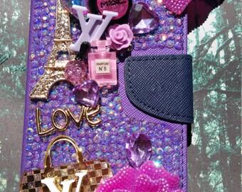 Purple iphone6 plus
